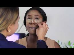 step by step prom makeup for dark skin