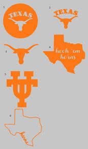 University Of Texas Longhorn Decal For Yeti Rtic By Mothermei Texas Longhorns Football Rooms Longhorns Football