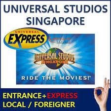 universal studios admission ticket