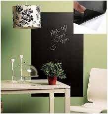 Amazon Com Removable Chalk Board Blackboard Vinyl Wall Sticker Decal Chalkboard 200 X 45cm Home Kitchen