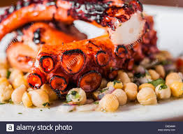 Octopus Salad Traditional Portuguese ...
