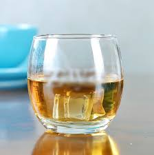 round shape oval whiskey glass ball