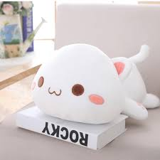 30 \ 50cm hoạt hình Dễ Thương sang trọng Đồ chơi quỳ Búp bê mèo ...
