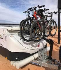 bike rack for jayco cer trailer