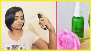 how to make makeup fixing spray at home
