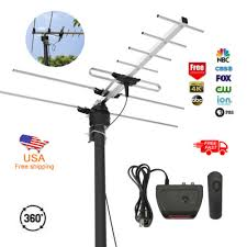 1Byone HDTV Antenna 200 Miles TV Digital HD Antena Outdoor ...