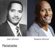 Juan Johnson Dwavne Johnson   Reddit Meme on ME.ME