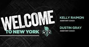 Liberty announce Kelly Raimon and Dustin... - New York Liberty | Facebook