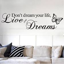 Removable Quote Word Decal Vinyl Diy Home Room Decor Art Wall Stickers Bedroom F For Sale Online