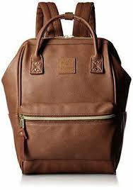 anello official leather cap backpack