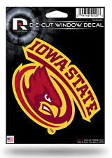 Iowa State Cyclones 5x6 Vinyl Die Cut Decal Sticker Emblem University Of For Sale Online Ebay