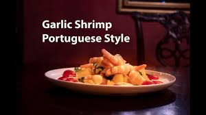 how to make portuguese style y shrimp