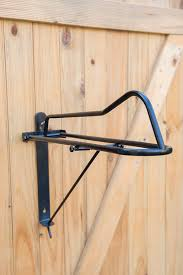 black saddle rack collapsable wall