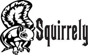 Amazon Com Car Stickers Decals Squirrely Squirrel Sticker 4 Inch White Automotive
