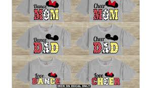 Cheer Mom Dad Dance Dad Mom Family Matching Vacation Classic Etsy