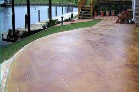 image concrete patio designs