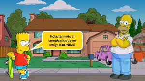 Video Invitacion Digital Los Simpson Youtube