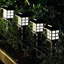 modern solar garden lights