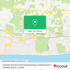 how to get to haskins garden centre