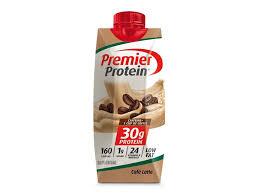café latte protein shake premier protein