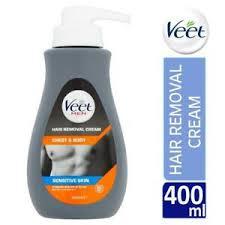 veet men chest body hair removal