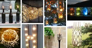 25 best diy outdoor lighting ideas and