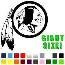 Nfl Washington Redskins Sticker Any Color 11 X 12 Die Cut Vinyl Decal 434379359