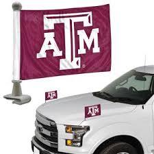 Bsi Collegiate Texas A M Ambassador Car Flag Set Basketball Equipment And Gear