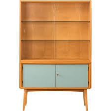 vintage glass cabinet 1950 design market