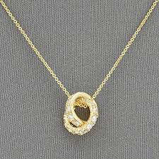simple gold dainty chain cubic zirconia