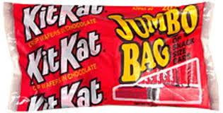 kit kat snack size jumbo bag bar 23