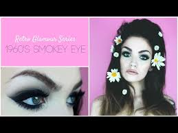 60s makeup smokey eye tutorial