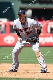 Minnesota Twins first baseman CJ Cron 24 Editorial Stock Photo ...