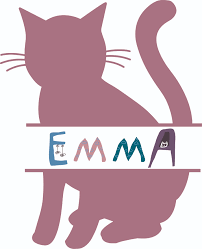 Cat Cats Kitty Silhouette Animal Customized Wall Decal Custom Vinyl Wall Art Personalized Name Baby Girls Boys Kids Bedroom Wall Decal Room Decor Wall Stickers Decoration Size 30x15 Inch