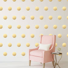 Gold Star Wall Decals Metallic Chandelier Silver Design Floral Flowers Polka Dot Circle Vamosrayos