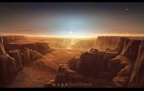 Valles Marineris of Mars - The ice volcanoes of Triton