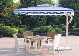 aluminum side stand patio umbrella