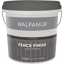 Walpamur 10l Charcoal Fence Finish Bunnings Warehouse
