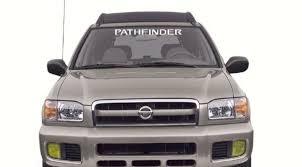 Nissan Pathfinder Windshield Banner Decal Sticker Custom Sticker Shop
