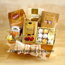 gift baskets and hers