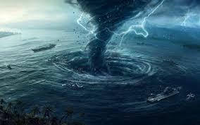 sea tornado wallpapers hd desktop