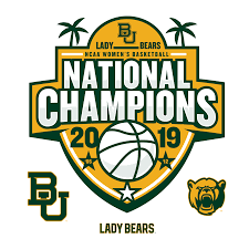 Baylor Bears 2019 Women S Basketball National Champions Logo Large Officially Licensed Removable Wall Decal Baylor Bear Champion Logo Baylor