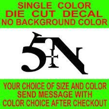 Nine Inch Nails Sin Logo Die Cut Vinyl Decal Car Truck Window Laptop Sticker Ebay