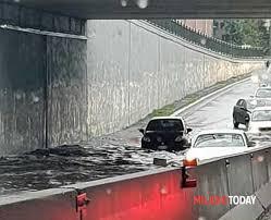 Maltempo a Milano: la città si è risvegliata sotto un forte ...