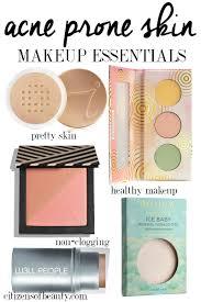 makeup essentials for acne e skin