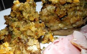 stove top stuffing stuffed mushrooms