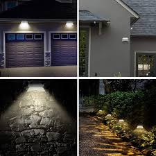 Upgraded Version Solar Fence Post Lights Wall Mount Auto On Off Shopee Philippines