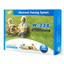 Electric Pet Dog Fence Wireless Waterproof Training Boundary Collar W227 Pet Supplies Other Pet Supplies