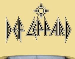 Def Leppard 2a Set Of 2 Vinyl Decals Decal For Car Truck Etsy