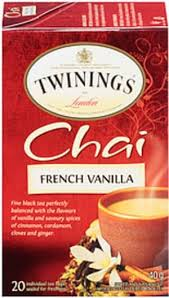 french vanilla chai tea bags